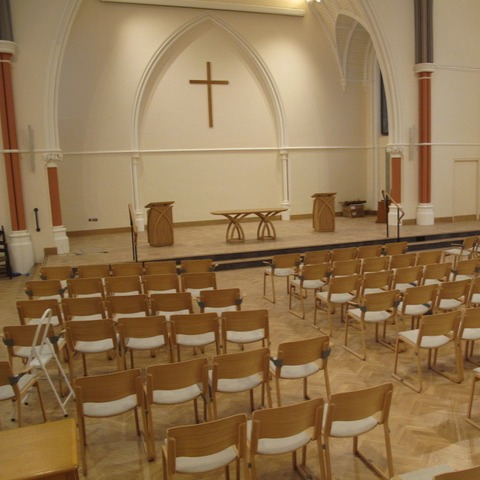 Downing Place Sanctuary ready for its congregation