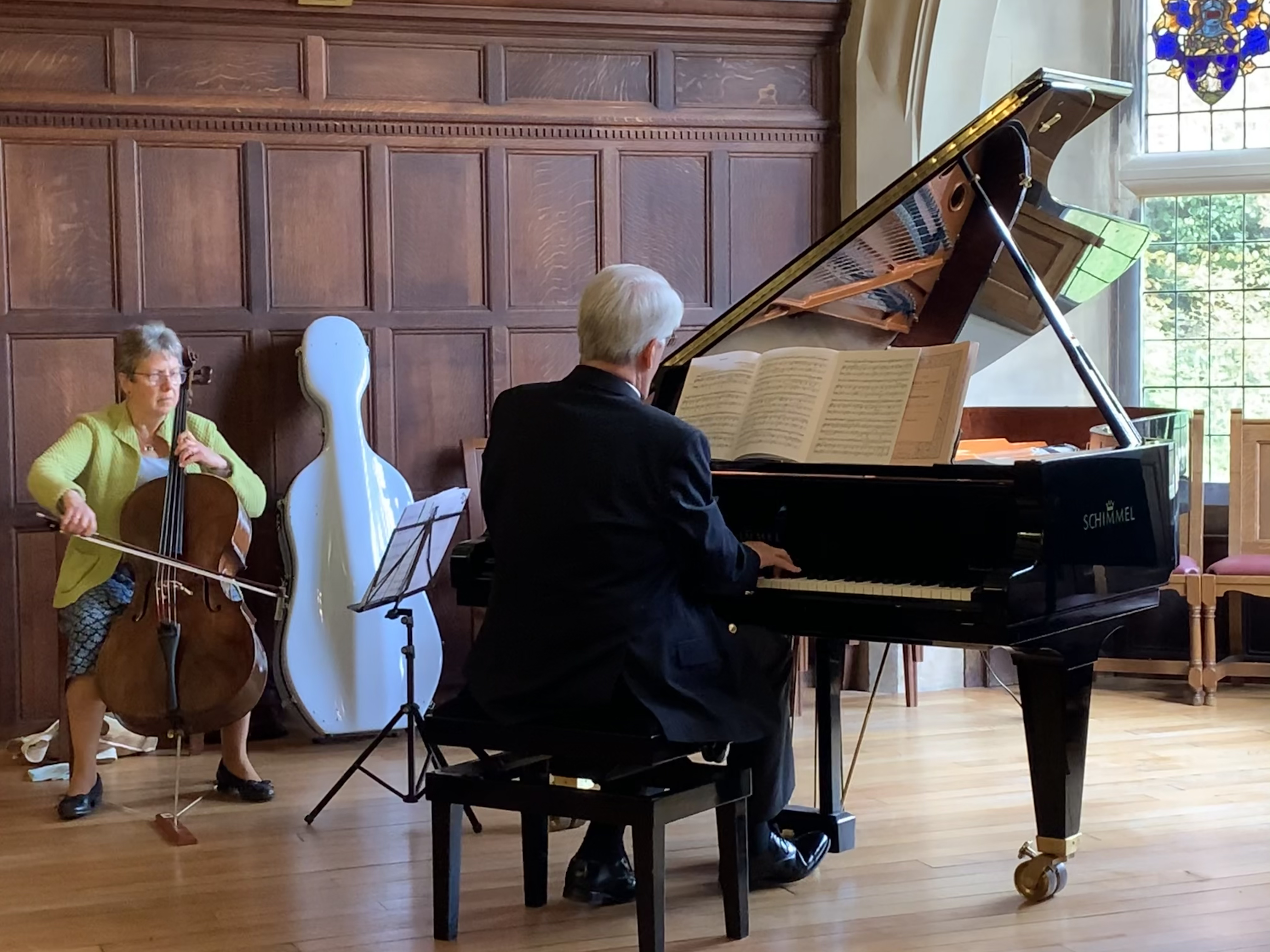Music on 'cello and piano